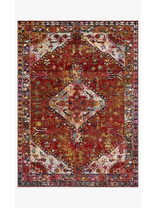Justina Blakeney Rugs - Silvia - SIL-06 Red/Multi