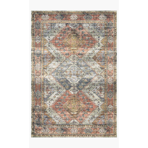 Skye Rug Collection by Loloi -Sky 06 Apricot/Mist