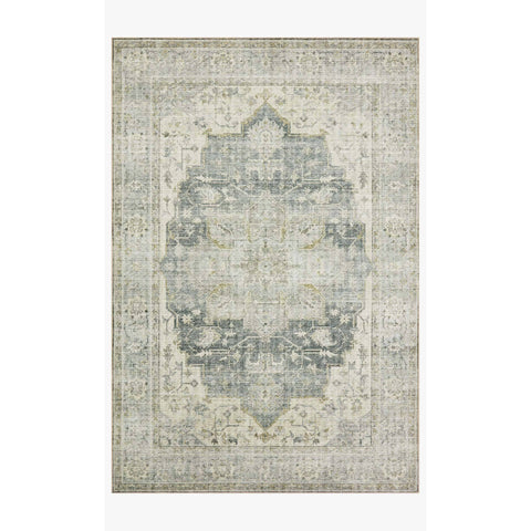 Skye Rug Collection by Loloi -Sky 12 Charcoal/Dove