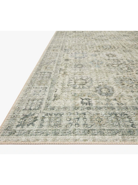 Skye Rug Collection by Loloi -Sky 14 Natural/Sage