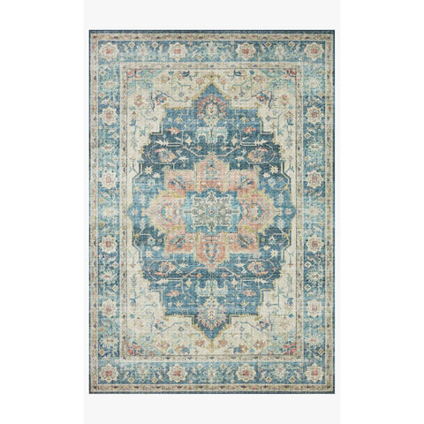 Skye Rug Collection by Loloi -Sky 13 Ocean/Multi