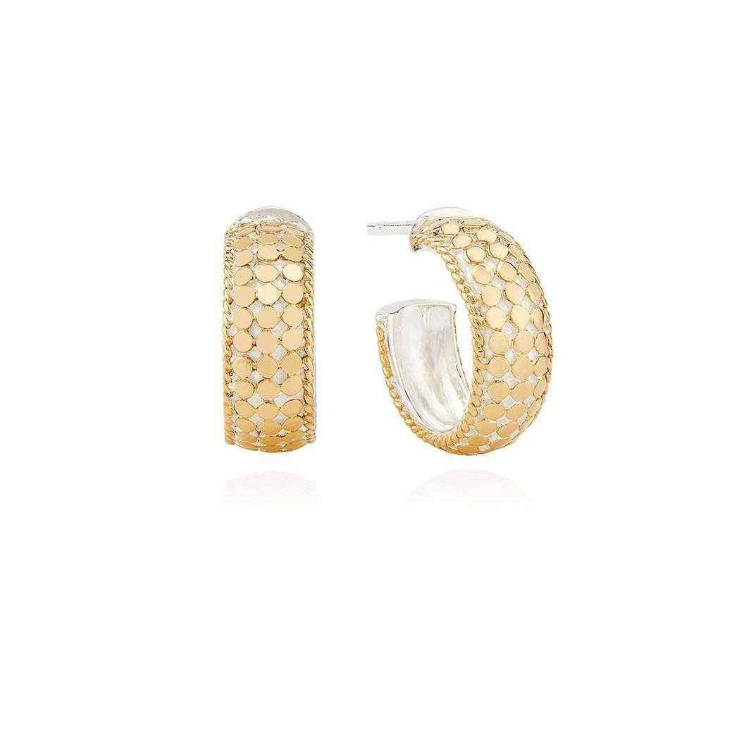 Anna Beck Small Dome Hoop Earrings - Gold