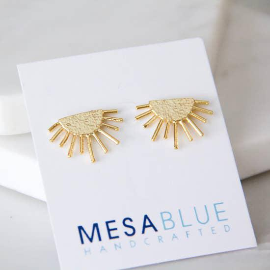 Sun Earrings-Mesa Blue-Blue Hand Home