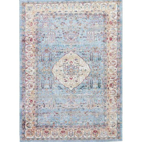Jaipur Rugs - Tabriz Collection - TBZ04 - Blue Hand Home