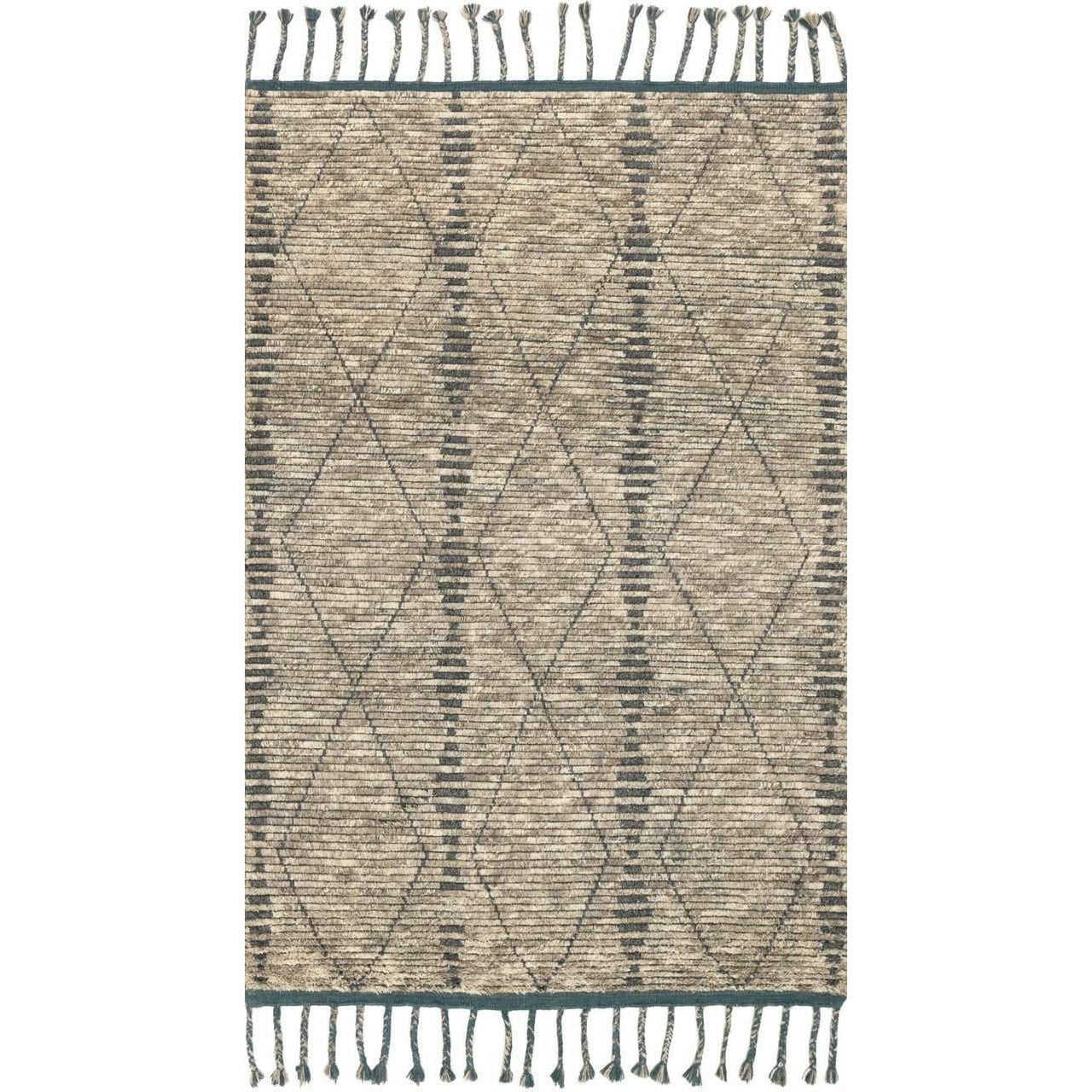 Joanna Gaines Of Magnolia Home Tulum Rug Collection - Stone / Blue