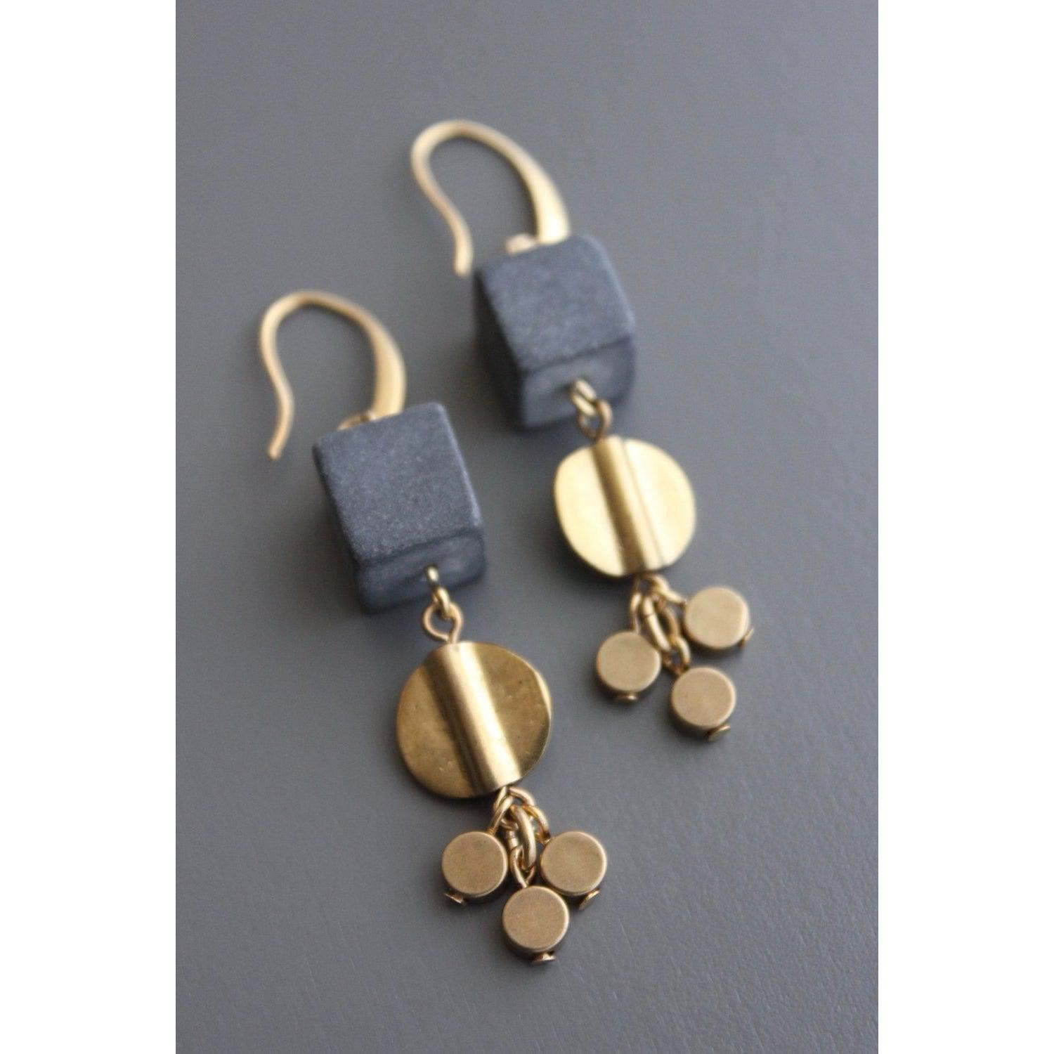 David Aubrey Earrings -TLDE21