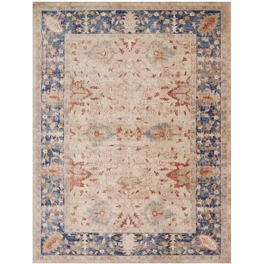 Joanna Gaines Trinity Rug Collection - SAND / BLUE