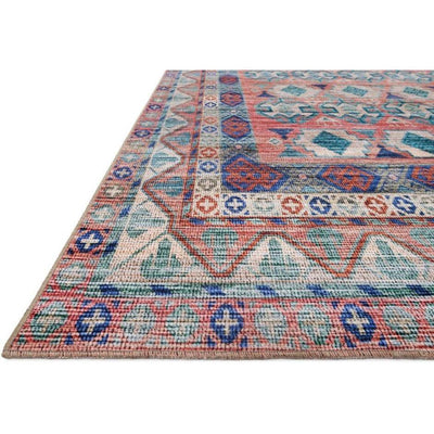 Justina Blakeney Rugs - Cielo - CIE-05 Terracotta/Multi-Loloi Rugs-Blue Hand Home