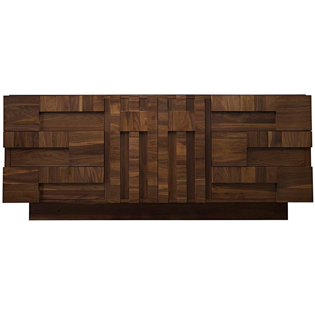 CFC Furniture Tracy Sideboard, Walnut-CFC Furniture-Blue Hand Home