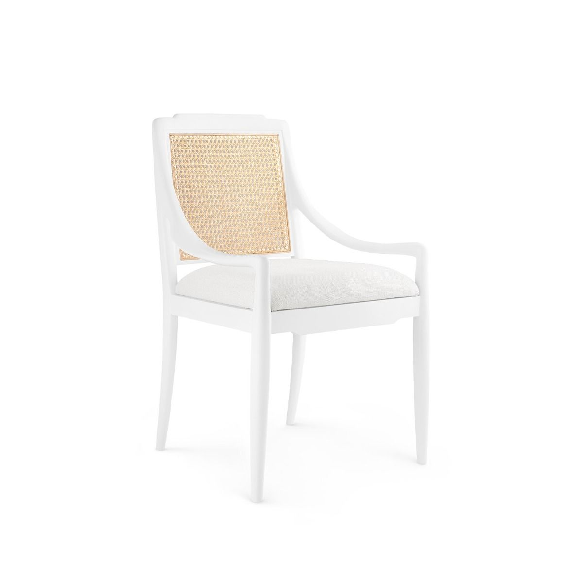 Bungalow 5 - VERONIKA ARMCHAIR, WHITE