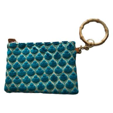 Violet Small Wristlet