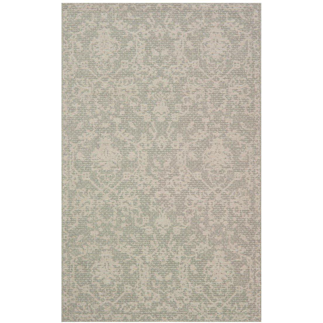 Joanna Gaines Magnolia Home Rug - Warwick Collection - Grey / Silver