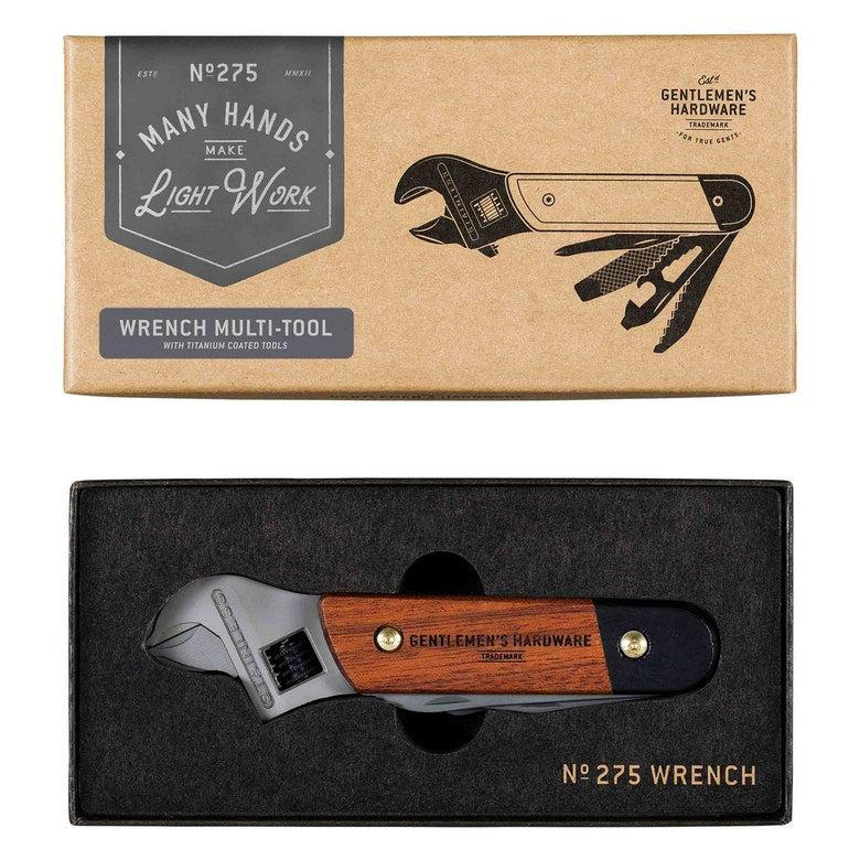 Wrench Multi Tool Wood Handle-Wild & Wolf-Blue Hand Home