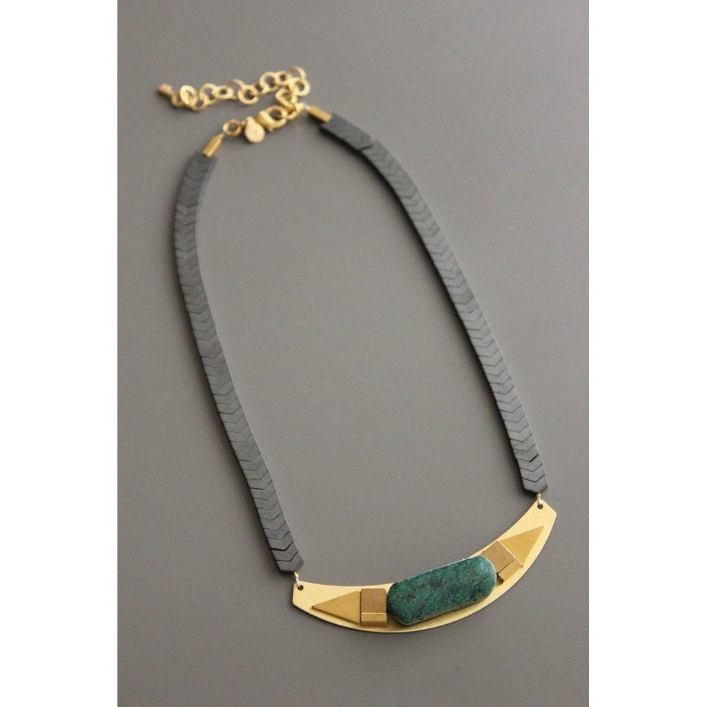 David Aubrey Necklace -XIN117-David Aubrey-Blue Hand Home
