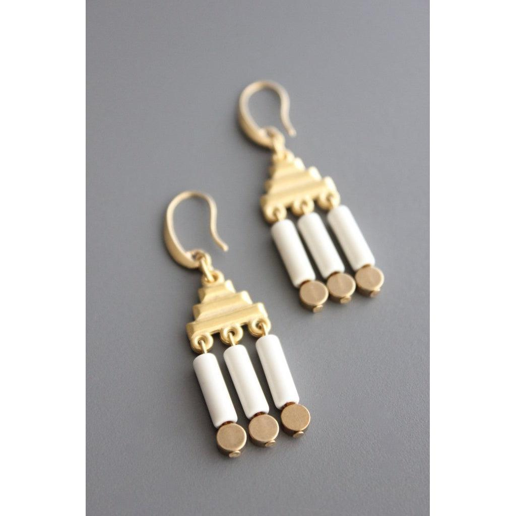 David Aubrey Earrings-YSME05