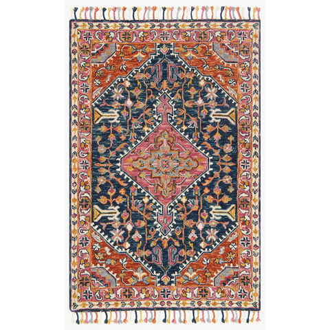 Loloi Rugs Zharah Collection - ZR-01 Navy/Multi