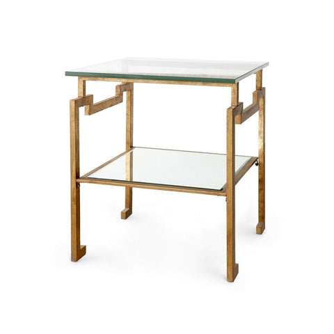 Bungalow 5 - ANTON SIDE TABLE in GOLD - Blue Hand Home