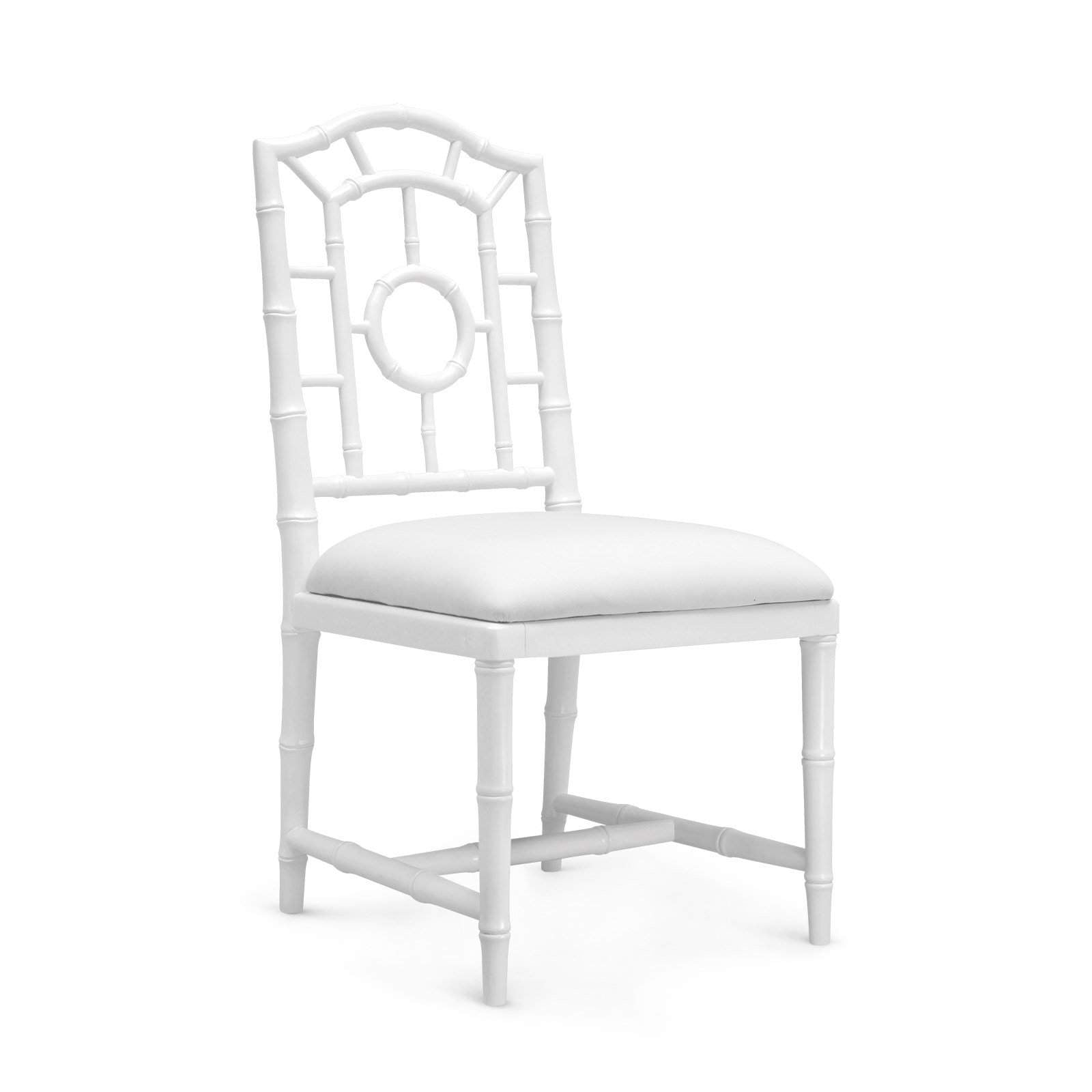 Bungalow 5 - CHLOE SIDE CHAIR in WHITE
