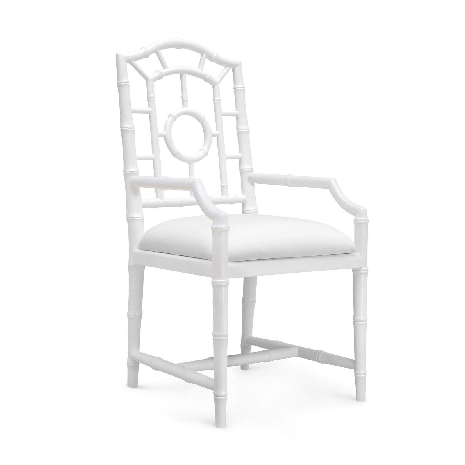Bungalow 5 - CHLOE ARMCHAIR in WHITE