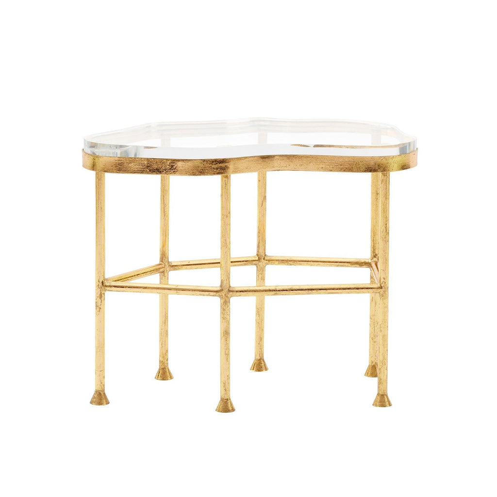 Bungalow 5 - CRISTAL SIDE TABLE, GOLD-Bungalow 5-Blue Hand Home