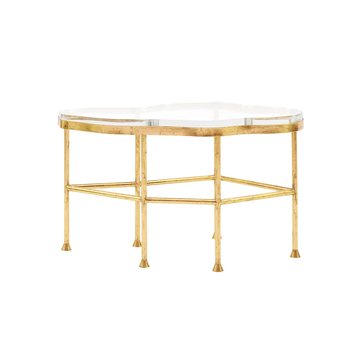 Bungalow 5 - CRISTAL COFFEE TABLE, GOLD-Bungalow 5-Blue Hand Home