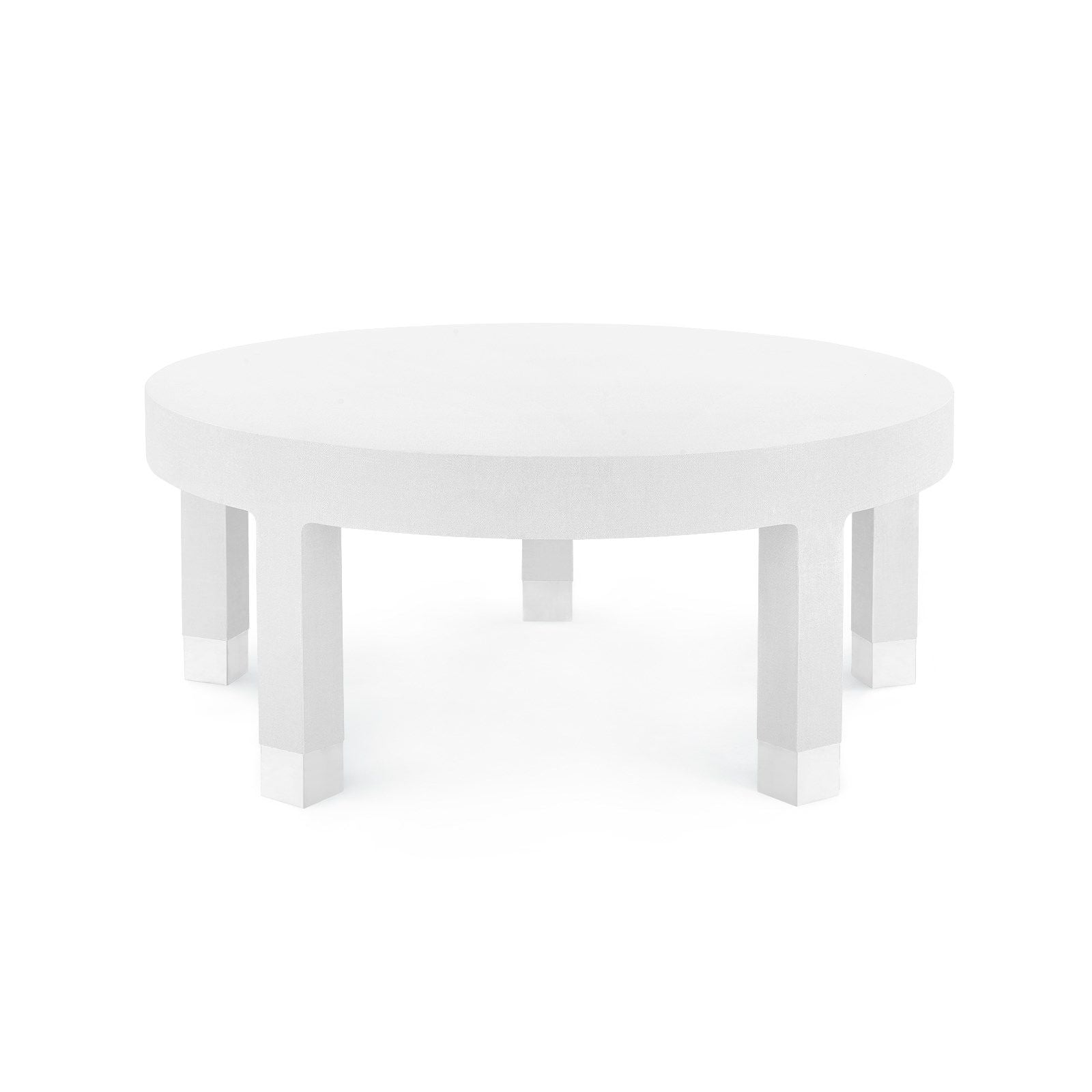 Bungalow 5 - DAKOTA LARGE ROUND COFFEE TABLE, WHITE