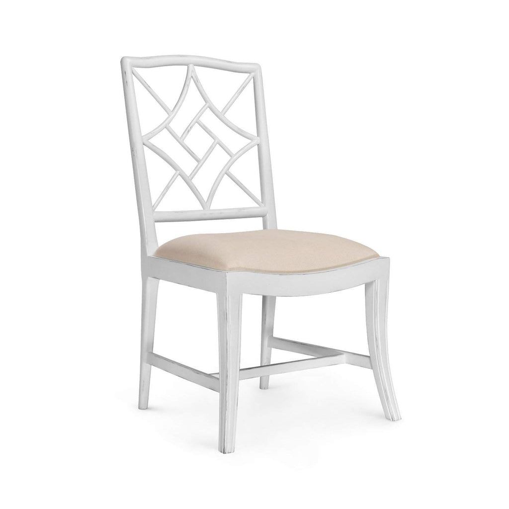 Bungalow 5 - EVELYN SIDE CHAIR in WHITE-Bungalow 5-Blue Hand Home