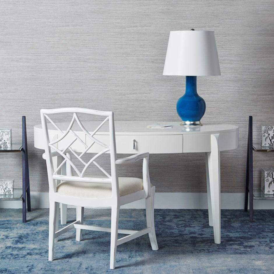 Bungalow 5 - EVELYN ARMCHAIR in WHITE-Bungalow 5-Blue Hand Home