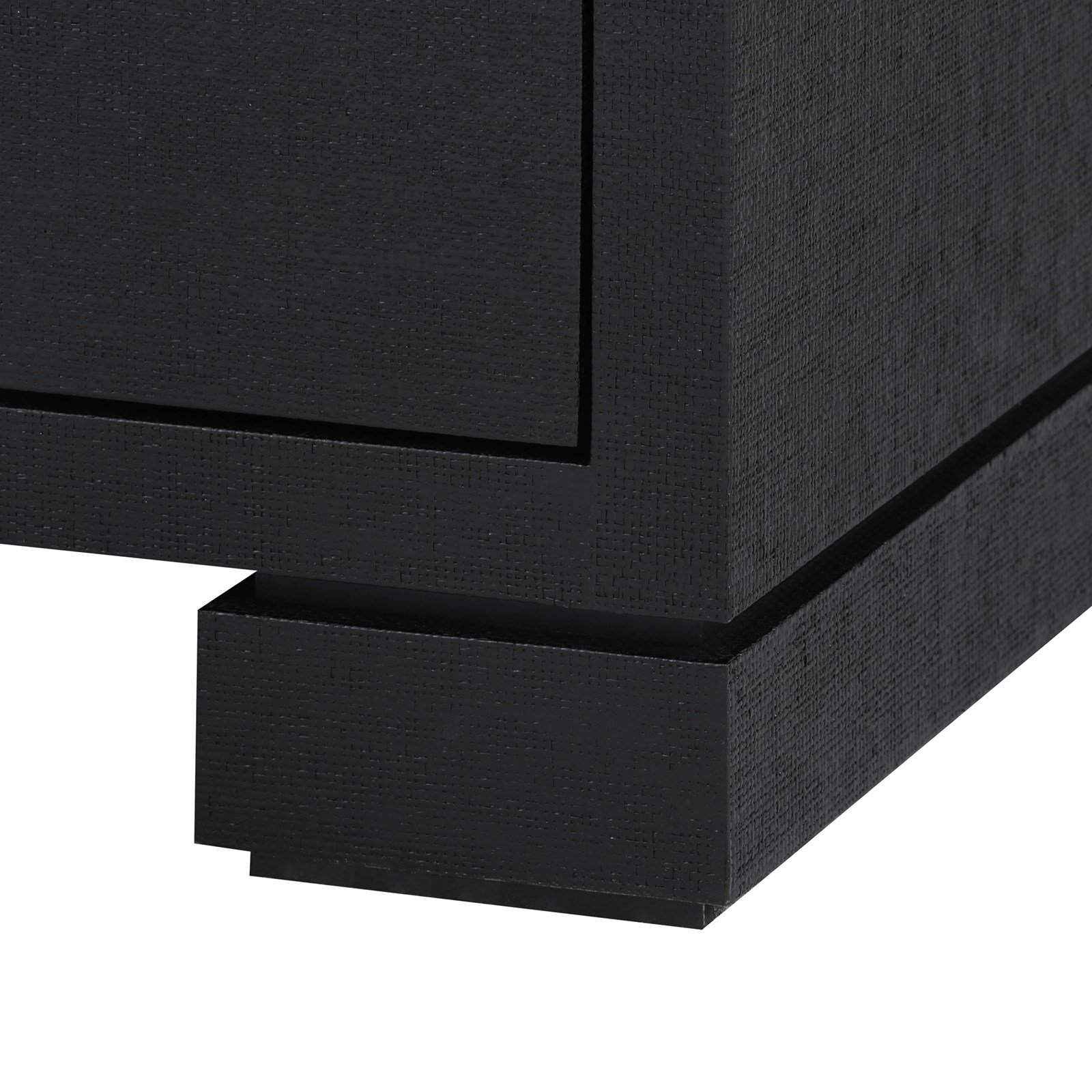... Bungalow 5   FRANCES 2 DRAWER SIDE TABLE In BLACK   Blue Hand Home ...