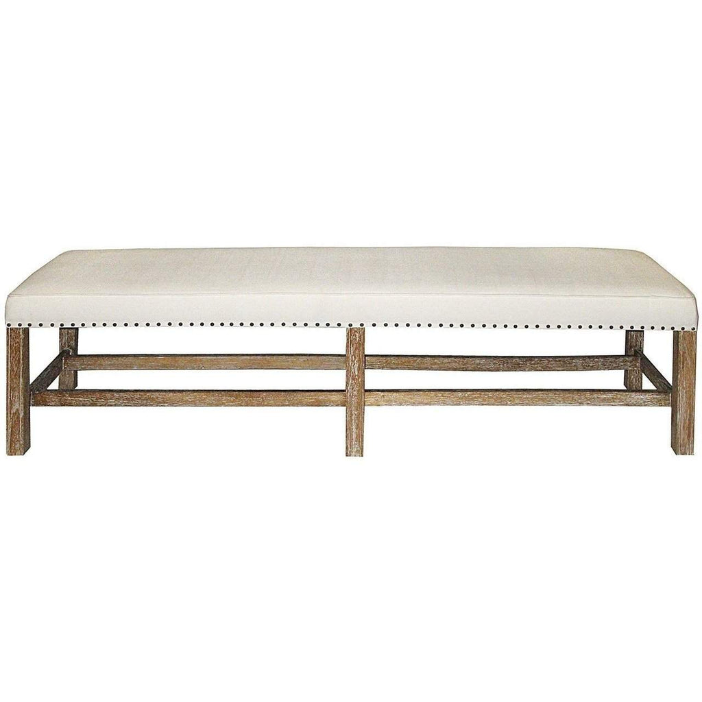 Noir Sweden Bench, Grey Wash - Blue Hand Home