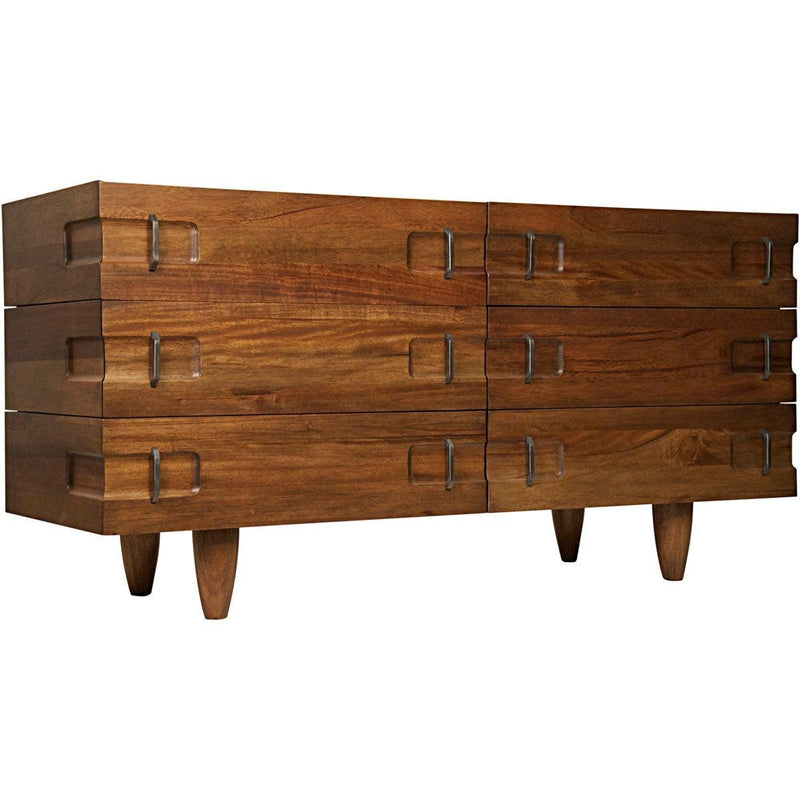 Noir Furniture David Sideboard, Dark Walnut-Noir Furniture-Blue Hand Home