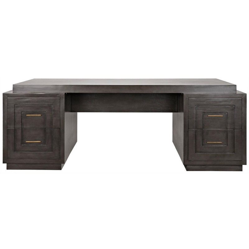 Noir Furniture Mentor Desk, Pale-Noir Furniture-Blue Hand Home