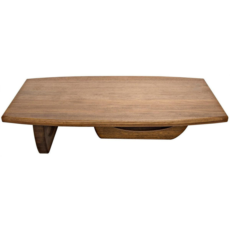 Noir Furniture Douglas Coffee Table, Dark Walnut-Noir Furniture-Blue Hand Home