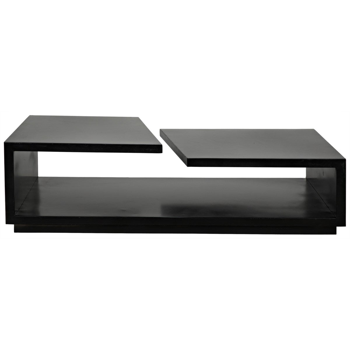 Noir Furniture Shift Coffee Table, Black Metal-Noir Furniture-Blue Hand Home