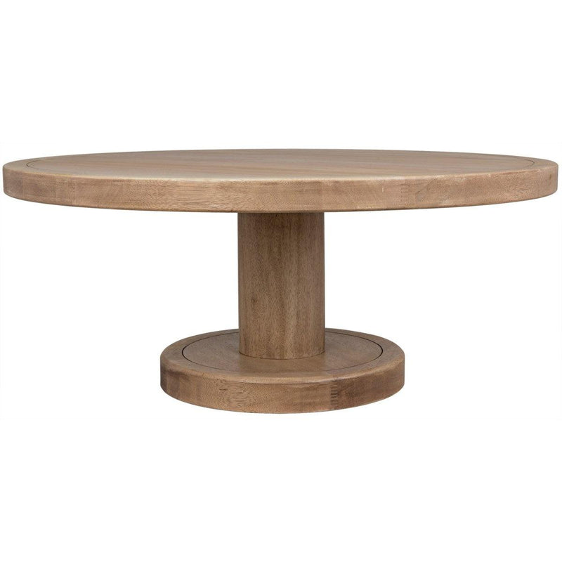 Noir Furniture Milena Coffee Table, Washed Walnut-Noir Furniture-Blue Hand Home