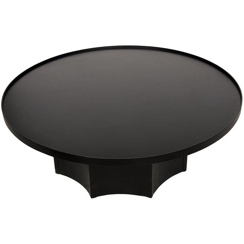 Noir Furniture Rome Coffee Table, Black Metal-Noir Furniture-Blue Hand Home