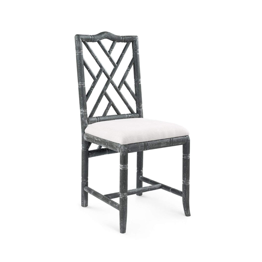 Bungalow 5 - HAMPTON SIDE CHAIR in GRAY - Blue Hand Home