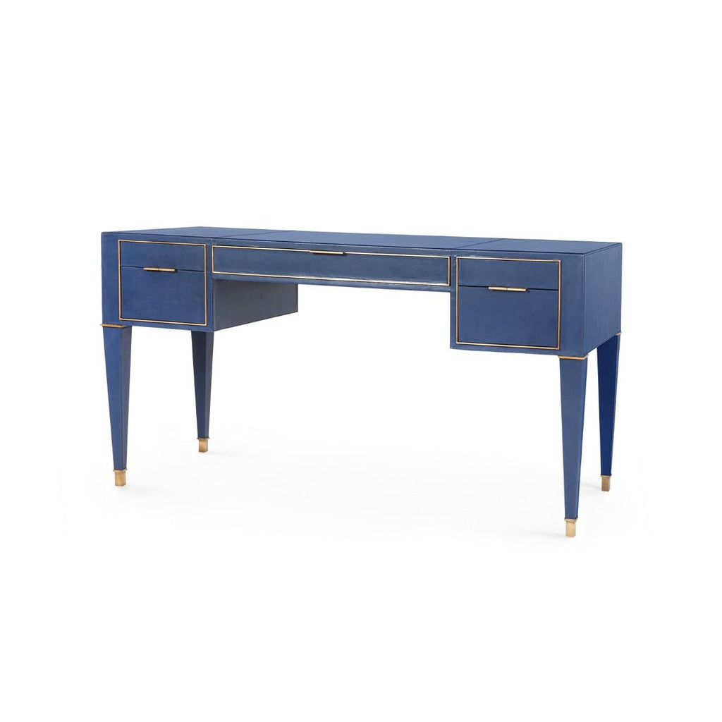 Bungalow 5 - Hunter Desk - Navy Blue-Bungalow 5-Blue Hand Home
