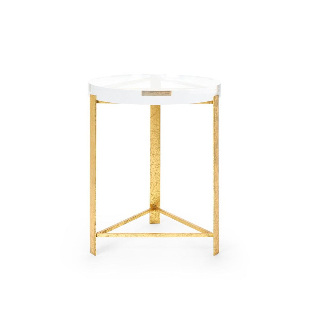 Bungalow 5 - Harrison Side Table - Gold-Bungalow 5-Blue Hand Home