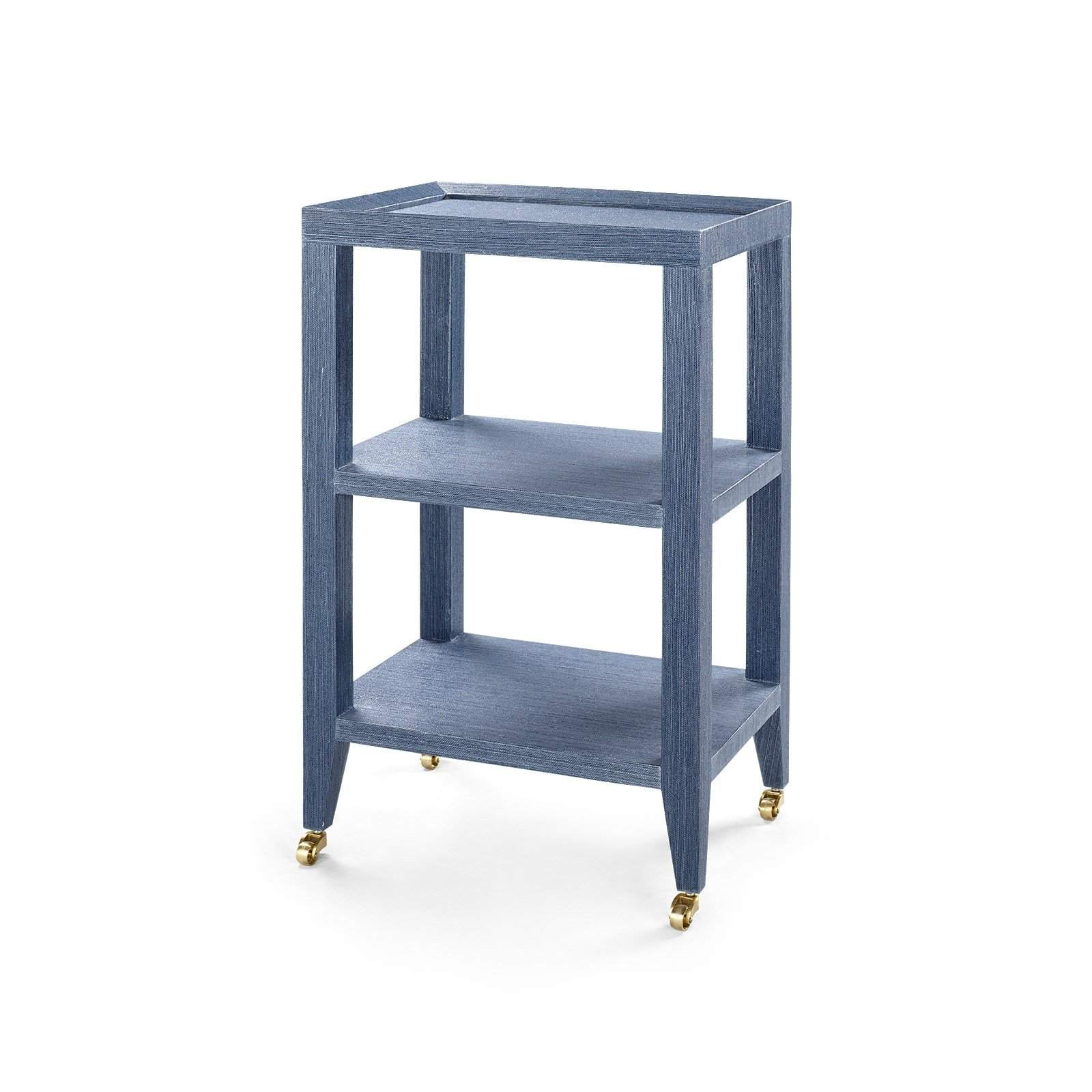 Bungalow 5   ISADORA SIDE TABLE In NAVY BLUE   Blue Hand Home ...