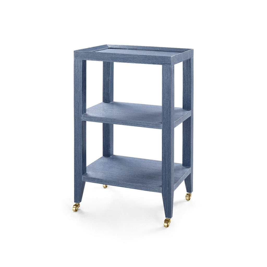 Bungalow 5 - ISADORA SIDE TABLE in NAVY BLUE - Blue Hand Home