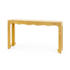 Bungalow 5 - JAQUES CONSOLE TABLE, ANTIQUE BRASS-Bungalow 5-Blue Hand Home