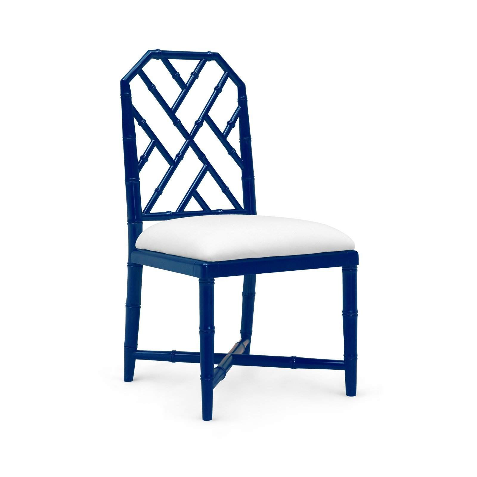 Bungalow 5   JARDIN SIDE CHAIR In NAVY BLUE   Blue Hand Home ...