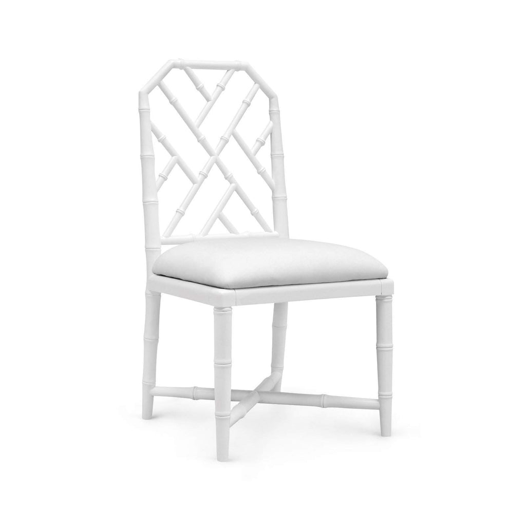 Bungalow 5 - JARDIN SIDE CHAIR in WHITE - Blue Hand Home