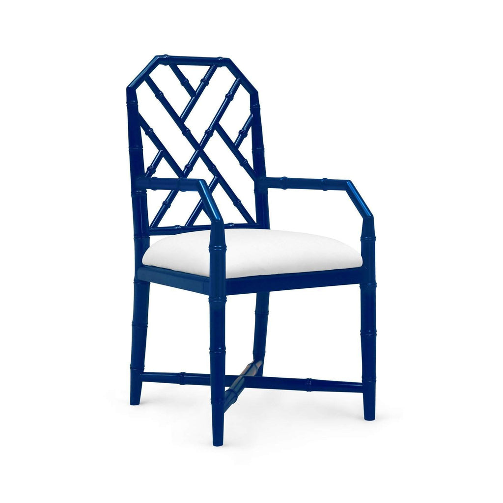 Bungalow 5 - JARDIN ARMCHAIR in NAVY BLUE - Blue Hand Home