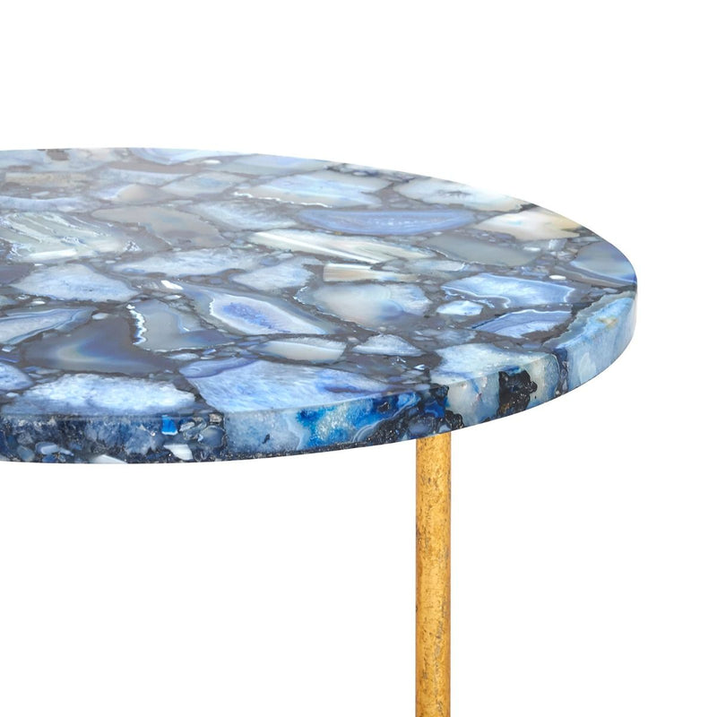 Bungalow 5 - Jenay Side Table - Blue-Bungalow 5-Blue Hand Home