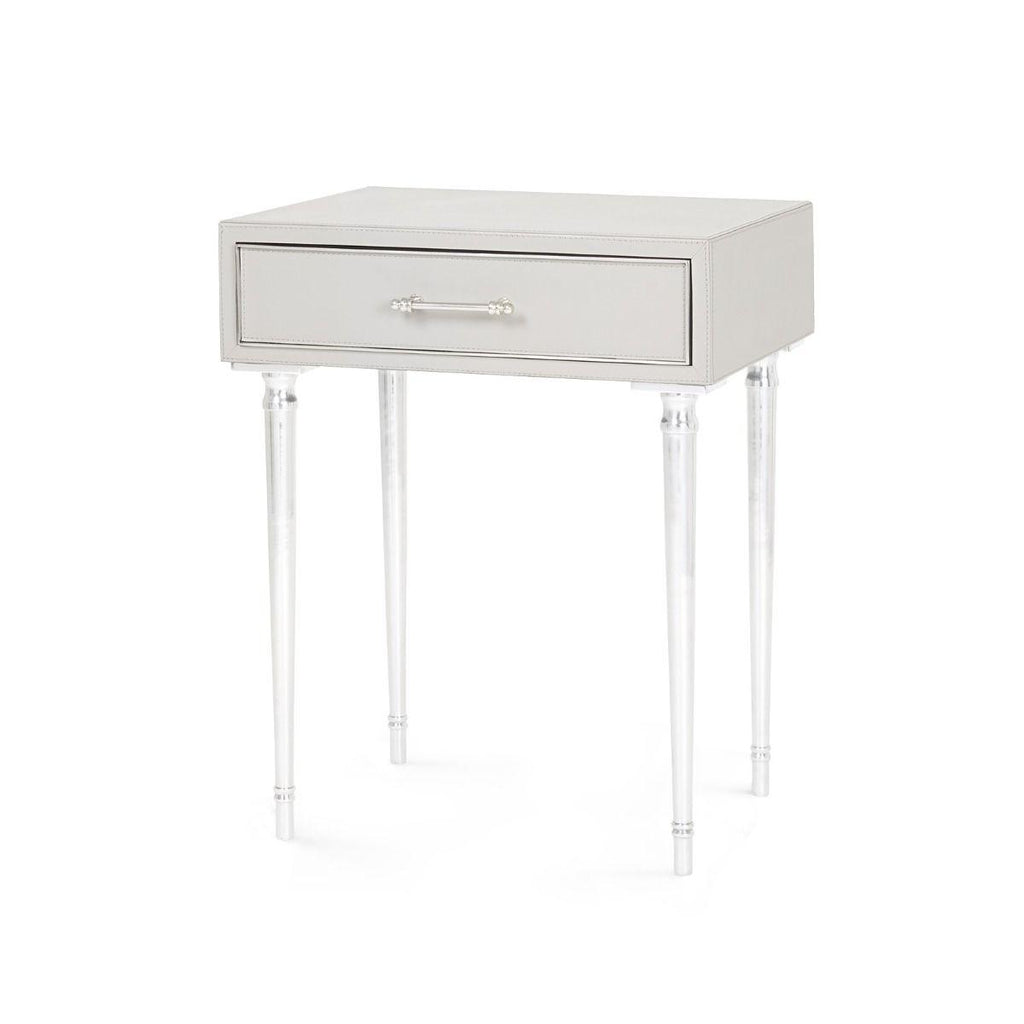 Bungalow 5 - Jolene 1-Drawer Side Table - Gray-Bungalow 5-Blue Hand Home