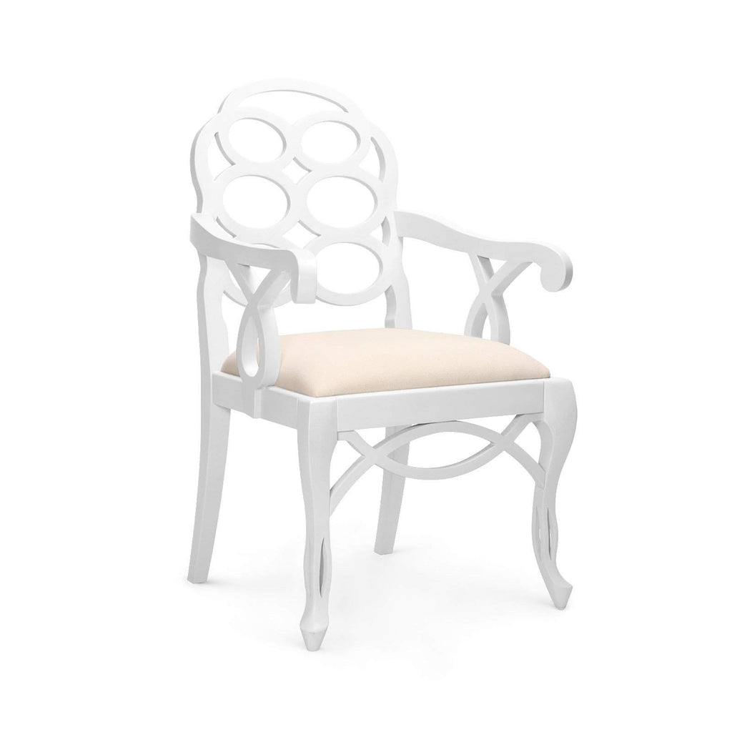 Bungalow 5 - LOOP ARMCHAIR in WHITE-Bungalow 5-Blue Hand Home
