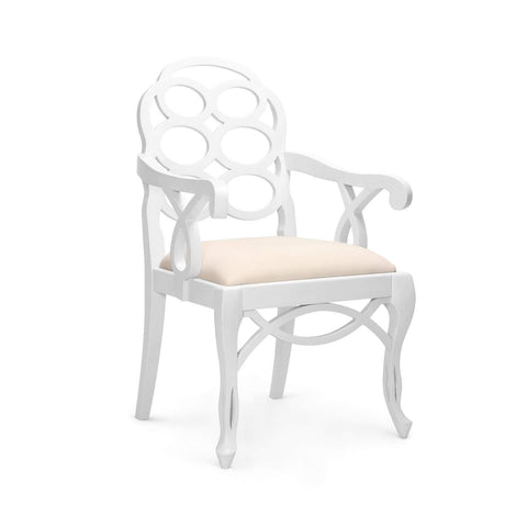 Bungalow 5 - LOOP ARMCHAIR in WHITE - Blue Hand Home