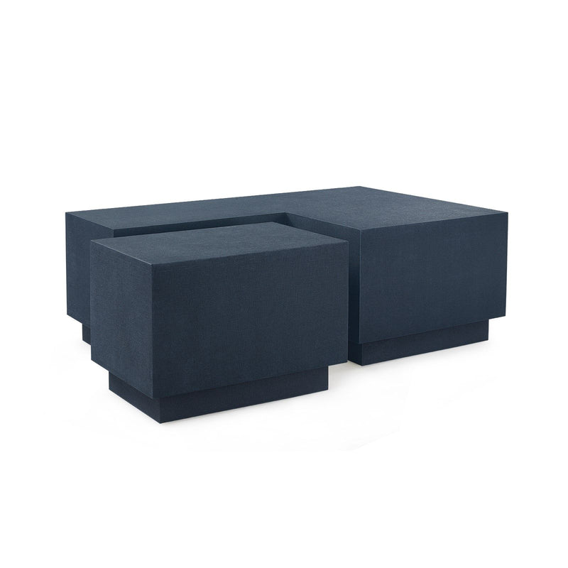 Bungalow 5 - MILA COFFEE TABLE, NAVY BLUE-Bungalow 5-Blue Hand Home
